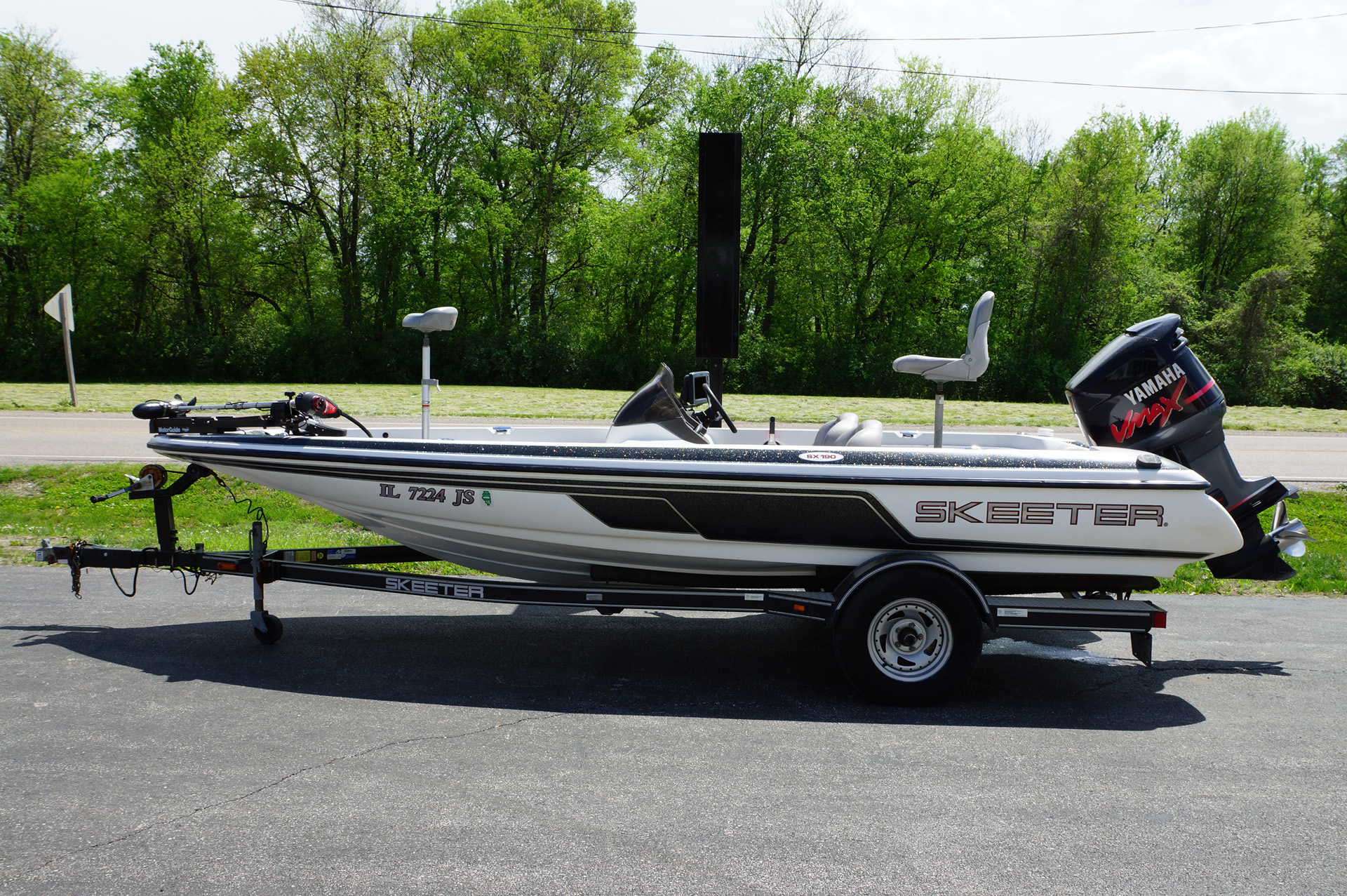 Skeeter new and used boats for sale in illinois for Used yamaha sx190