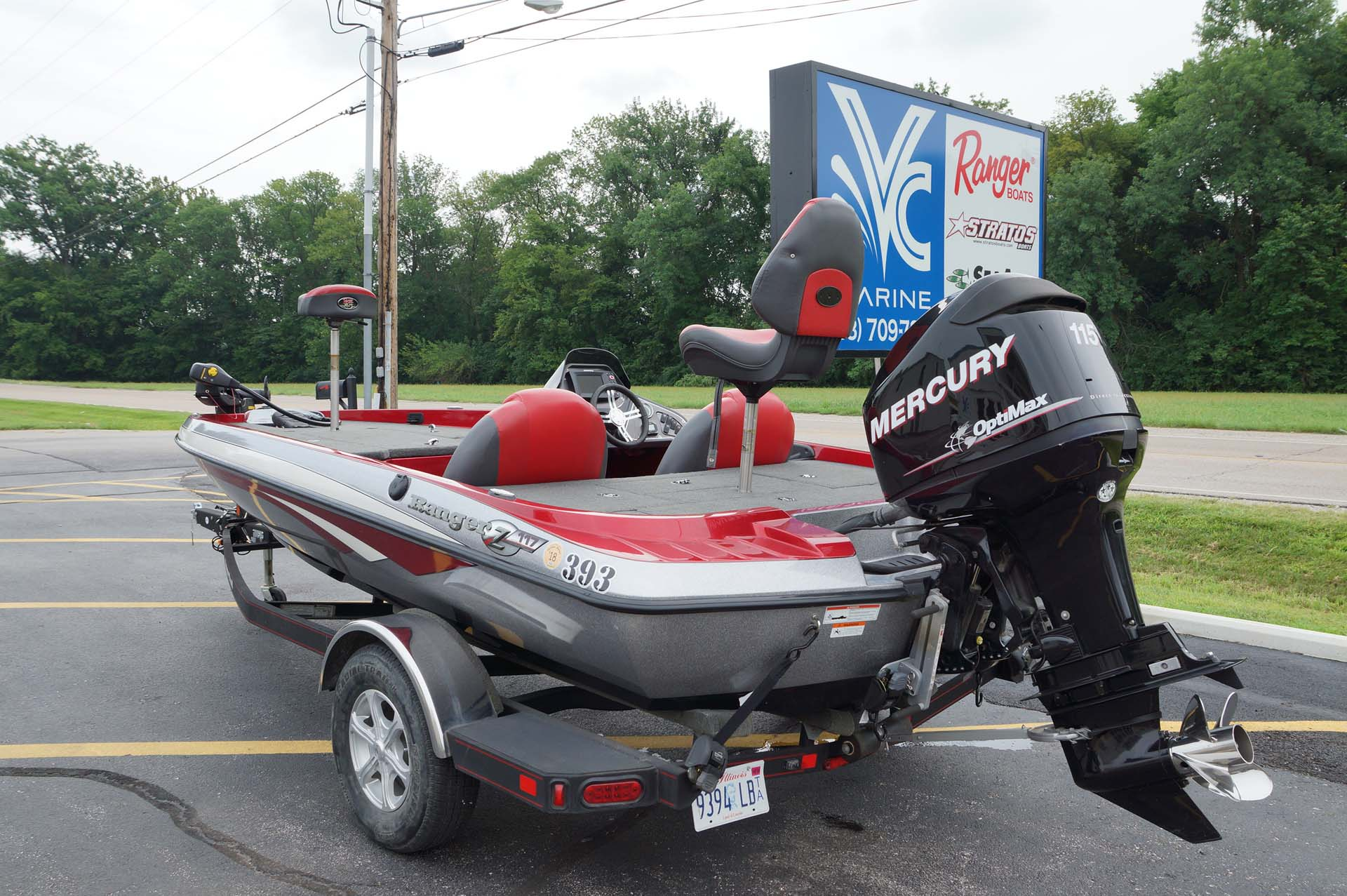 2013 Ranger Z117 W Mercury 115 Optimax Amp Trailer Vc Marine