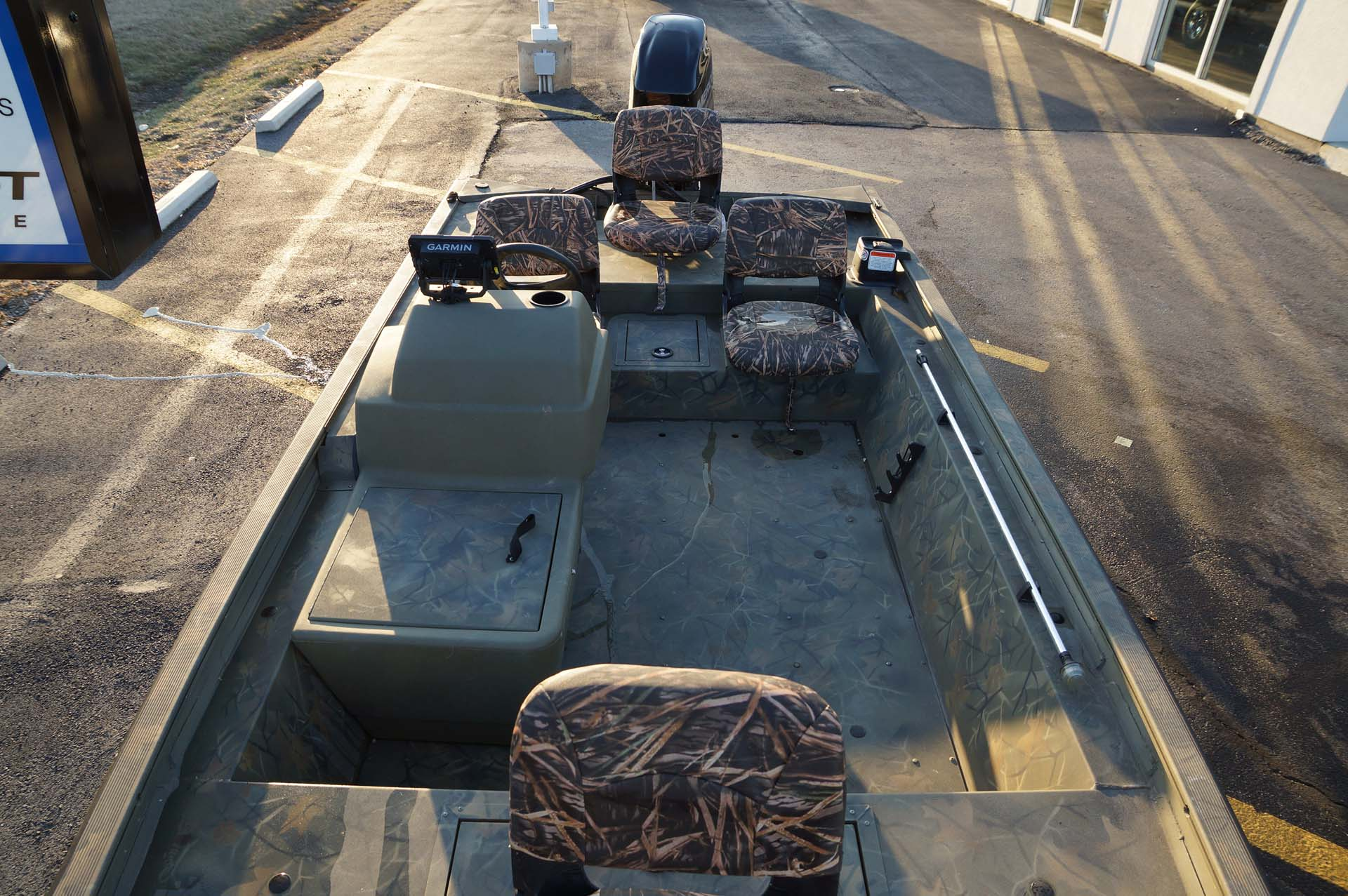 2017 Tracker Grizzly 1754 Mvx Sc W Mercury 60 Amp Trailer